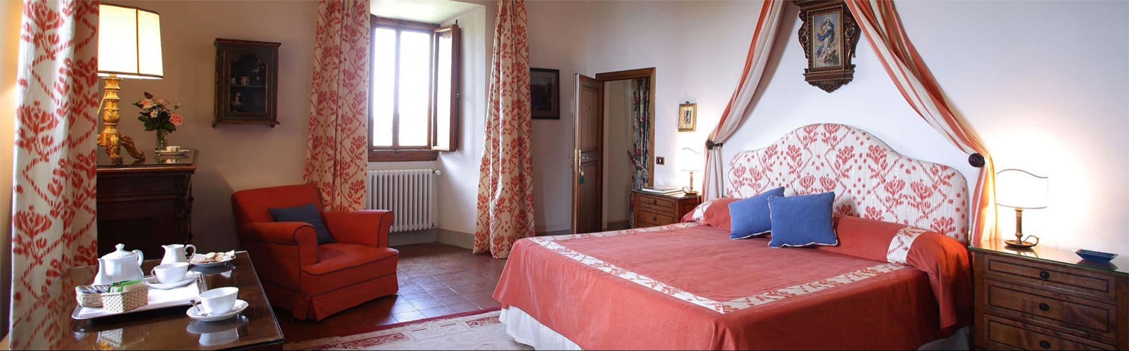 Villa Le Barone - Chambre