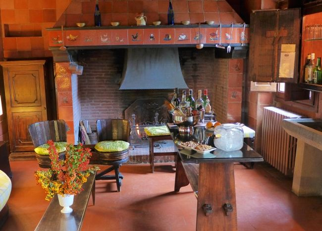 Villa Le Barone - Dining