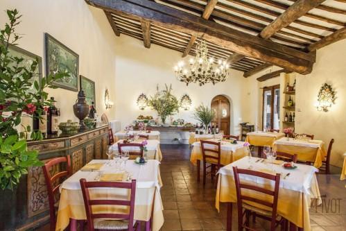 Villa Le Barone - Restauration