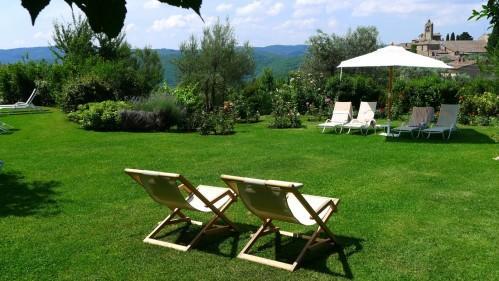 Villa Le Barone - Garten