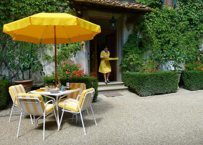 Villa Le Barone - Jardín